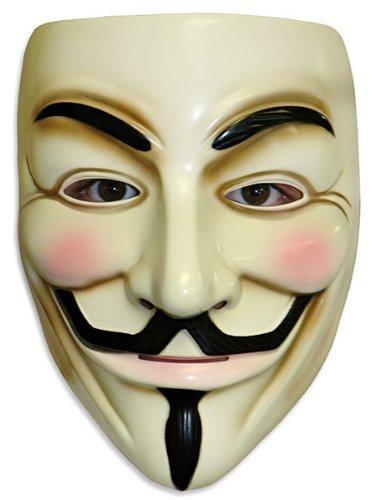 OrangeTag Guy Fawkes V for Vendetta Adult Masks, Lot of 10