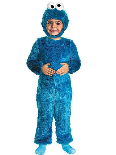 Baby Cookie Monster Costume (Cookie Monster Comfy Fur Costume - Small (2T))