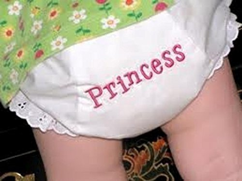 Diaper Cover Embroidered Bloomers and Boxers