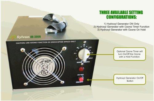 Sylvan HX 3000 Hydroxyl Generator Optional product image