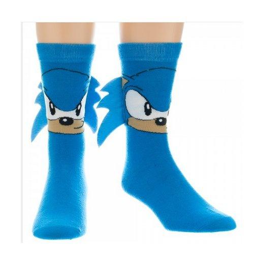 Sega Sonic Crew Sock with Quills OS ()