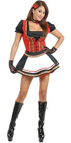 Adult Beer Garden Babe Costume Large