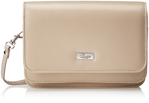 Body Cross Taupe Double Bag Buxton Mini Flap t4PxIR