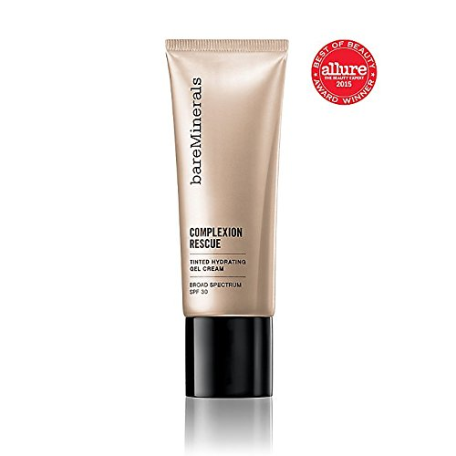 07 Cream - bareMinerals Complexion Rescue Tinted Hydrating Gel Cream SPF 30, Tan 07, 1.18 Ounce