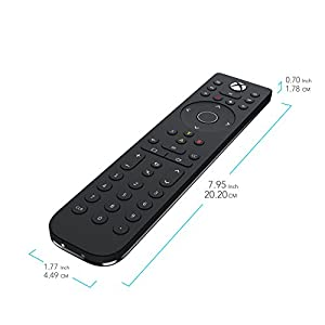PDP Talon Media Remote Control for Xbox One, TV, Blu-ray & Streaming Media