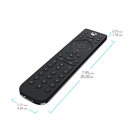 PDP 048-083-NA Talon Media Remote Control for Xbox One, TV, Blu-Ray & Streaming Media 4