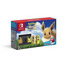 Nintendo Switch™ Pikachu & Eevee Edition with Pokémon™: Let's Go, Eevee! + Poké Ball™ Plus