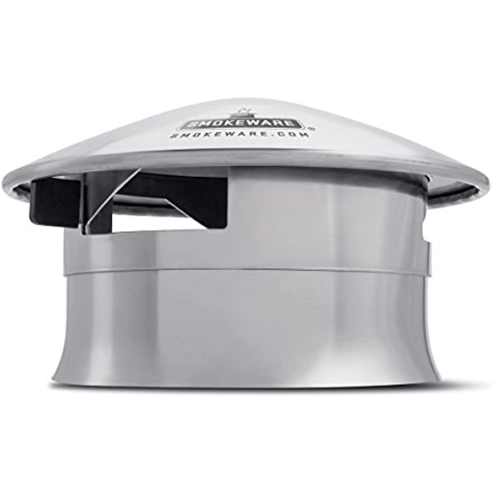 Smokeware Vented Chimney Cap Compatible With The Big