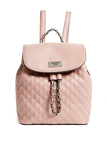 G by GUESS Women's Radford Quilted Chain Drawstring Mini Backpack