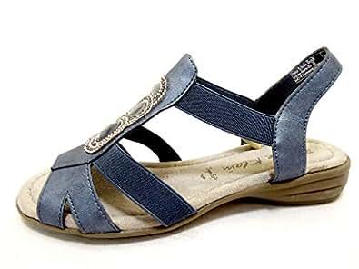 JANE KLAIN 282279 Womens Sandals Blue