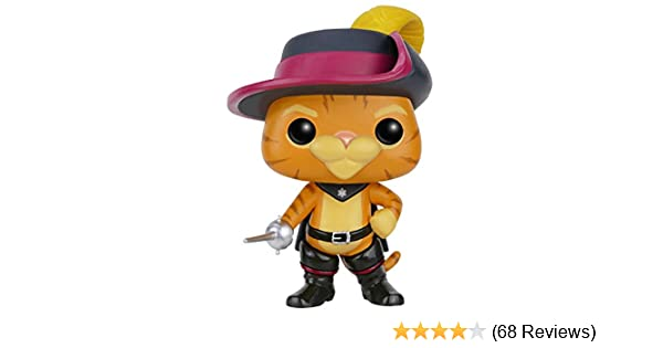Puss in Boots Toy Figure FUN5547 Accessory Toys /& Games Funko POP Movies Shrek