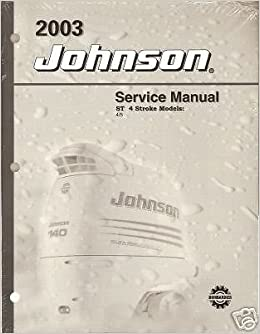 Used 1995-2003 evinrude/johnson outboard shop manual, 2-70 hp two.