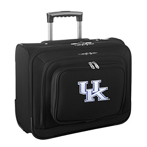 Denco NCAA Kentucky Wildcats Wheeled Laptop Overnighter (Laptop Wildcats Bag Kentucky Ncaa)