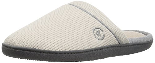 Women's Comfort ISOTONER and Indoor Taupe Waffle Arch Slipper for Clog Slip Outdoor Knit Support On gxBZqdx