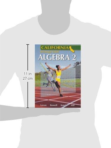 Holt McDougal Larson Algebra 2 California: Student Edition 2007