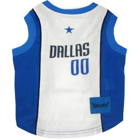 Dallas Mavericks Dog Jersey Large by DoggieNation