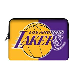 Fashionable designed 13 Inch Two Sides Macbook Air Sleeve with LA Lakers-by Allthingsbasketball