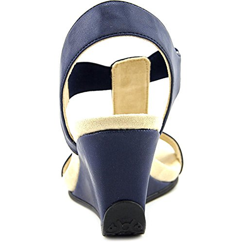 Anne Klein Womens Loona Navy/Navy Synthetic XcFML8tn