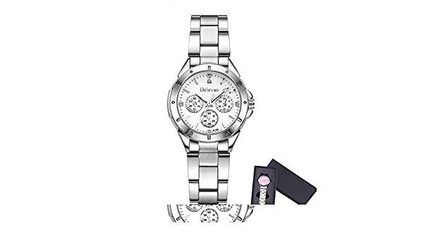 Amazon.com: Unisex Montre Femme Reloj Mujer Leather Stainless Mens Watch Wholesale Quartz Wrist Watches Women Hot Black: Jewelry