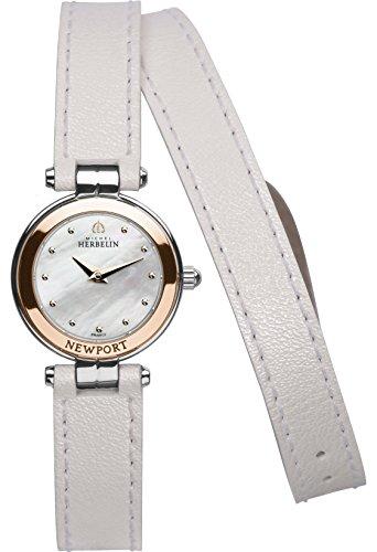 Lady's Watch - Michel Herbelin - Newport Yacht Club White - 17455/TR19BLAL