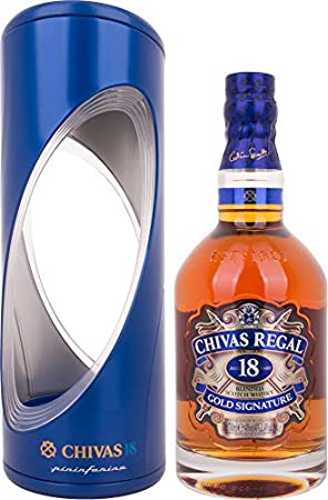 Chivas Brothers Ltd Regal 18 Years Old GOLD SIGNATURE Blended Scotch Whisky Pininfarina Edition 40% Vol. 0,7l in Giftbox
