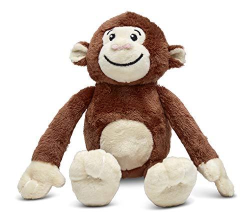 Yonkey Monkey Popular 10-inch Cute Soft Plush Monkey, Travel Buddy, Blogger, Friend