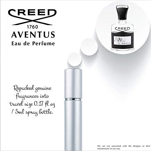 Creed Aventus for him EDP 100% Authentic 5 ml / 0 16 oz spray Mini Travel  Size
