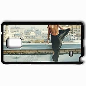 Personalized Samsung Note 4 Cell phone Case/Cover Skin Anna Konchakovskaya Black