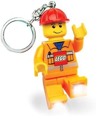 Lego Construction Worker Keychain