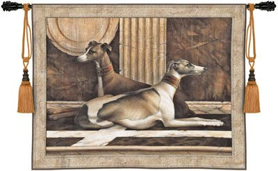 Tapestry Wall Hanging - Greyhound Fresco [Kitchen]