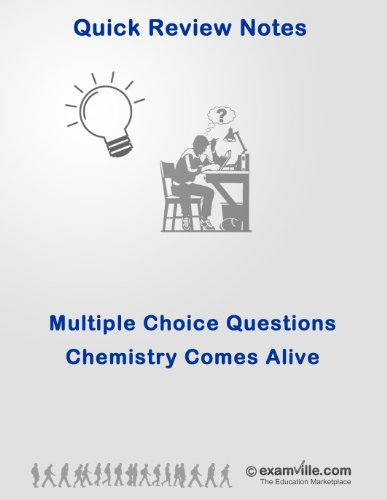 Multiple Choice Practice Questions: Chemistry in Human Body (Anatomy & Physiology Review) (Quick Review Notes)