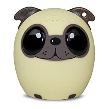 My Audio Pet (Gen 1) Mini Bluetooth Animal Wireless Speaker with Powerful Rich Room-filling Sound - 3W audio driver - Remote Selfie Function - for iPhone/iPad/iPod/Samsung/HTC/Tablets - POWER PUP