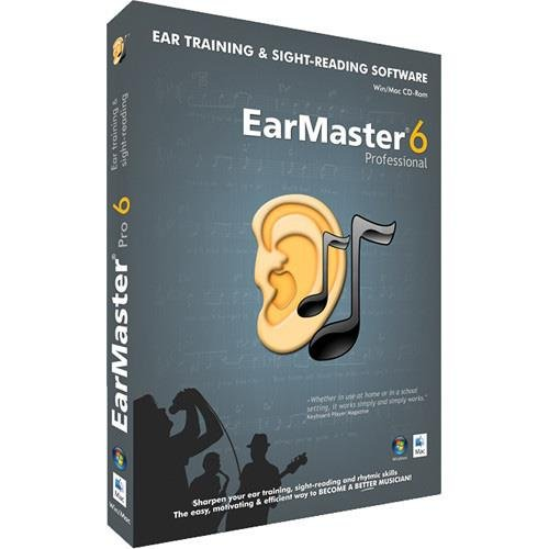 eMedia EarMaster 6 Professional Software with 2000+ Ear Training (2000 Training)