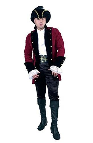 - Charades Men's Pirate Prince Costume Jacket, Wine/Black, Medium