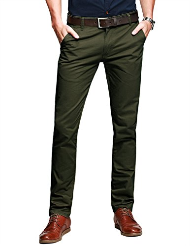 Match Slim Tapered Flat Front Casual Pants product image