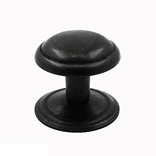 Rustic Pewter Finish Knob Handle Drawer Pull Kitchen Hardware Cupboard Vanity