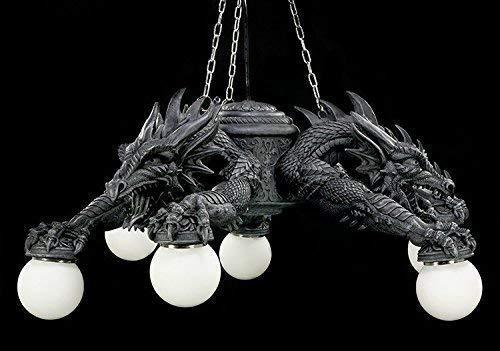 Lámpara colgante de dragón