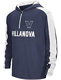 Youth Villanova Wildcats Quarter Zip Hooded Windshirt
