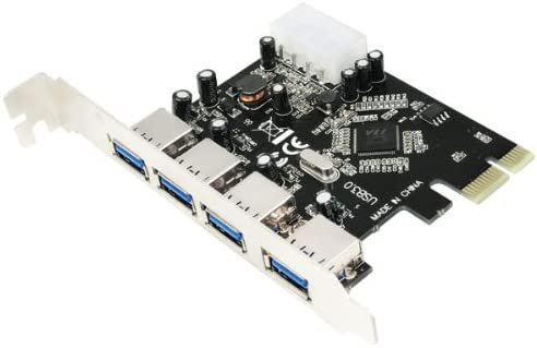 LogiLink PC0057 - Tarjeta PCI-Express (3+1 x USB 3.0, VIA)