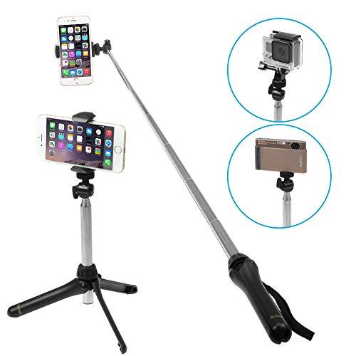 ikross selfie stick handheld extendable monopod for fujifilm finepix f550exr f500exr f505exr. Black Bedroom Furniture Sets. Home Design Ideas