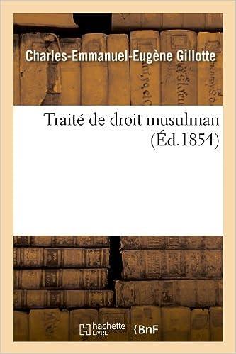 En ligne Traité de droit musulman (Éd.1854) pdf