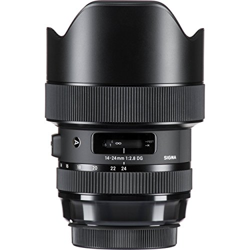 Sigma 14-24mm f/2.8 DG HSM Art Lens for Nikon F – 6PC Accessory Bundle by Sigma (Image #1)