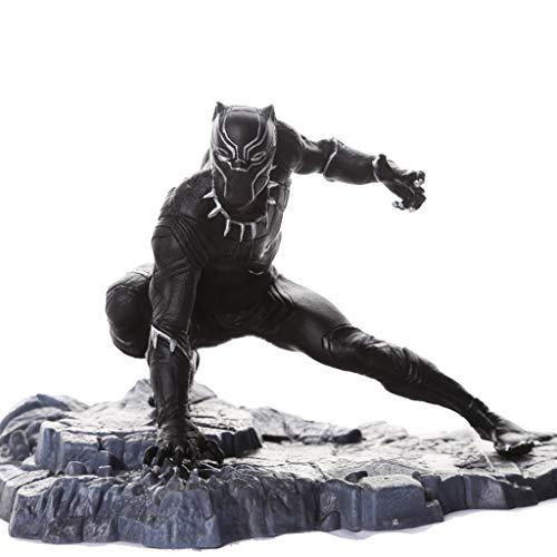 ASJHK Versión de película de Avengers Modelo de Pantera de Juguete Personalizada Estatua Decorativa 15 * 12 * 11.5 cm...
