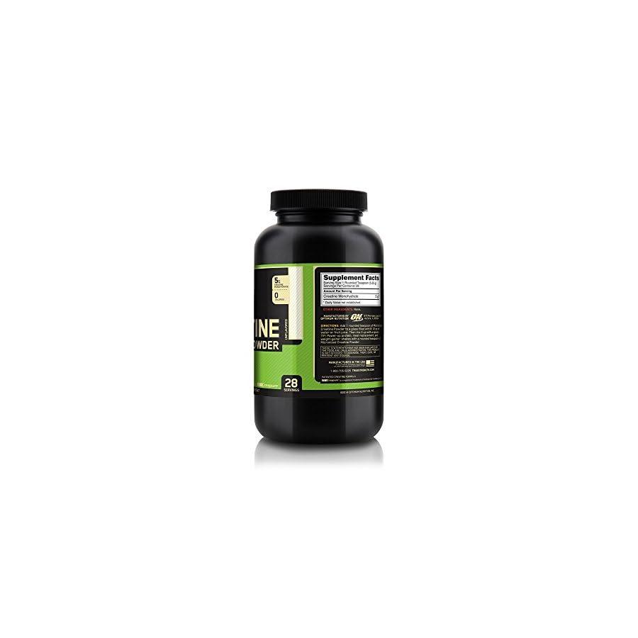 OPTIMUM NUTRITION Micronized Creatine Monohydrate Powder, Unflavored, 150g