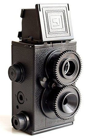 NEW DIY Classic Retro Recesky Twin Lens Reflex TLR Camera set as Holga Lomo Film 35mm