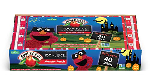 Apple & Eve 100% Juice Monster Punch, 40 Count, 12.8 Pound ()