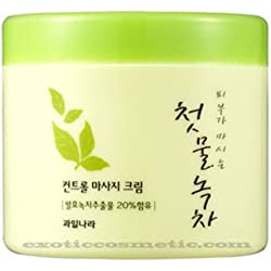 The First Green Tea Natural Facial Massage Cream (Fermented Green Tea)