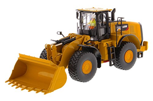(Diecast Masters CAT Caterpillar 980M Wheel Loader with Rock Bucket and Operator High Line Series 1/50 Diecast Model by 85543)