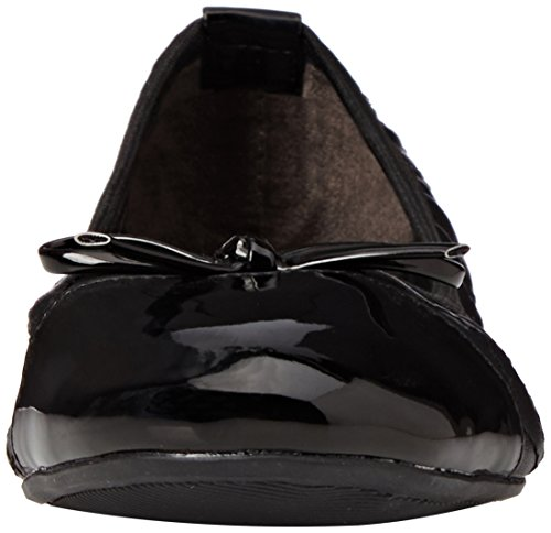 Butterfly Twists olivia - Bailarinas para mujer, color negro Black Black