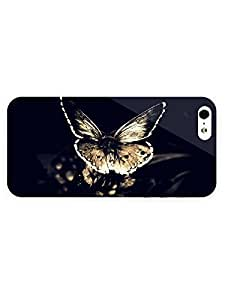 3d Full Wrap Case for iPhone 5/5s Animal Butterfly56